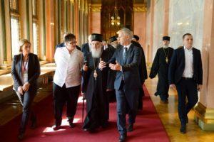 Патријарх у посети Парламенту Мађарске