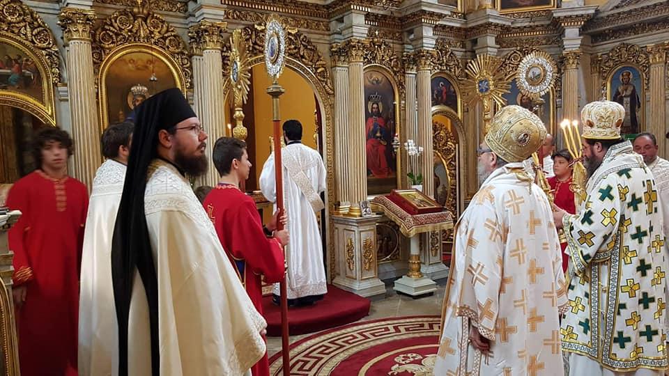 Архиепископ катарски г. Макарије у посети Епархији будимској