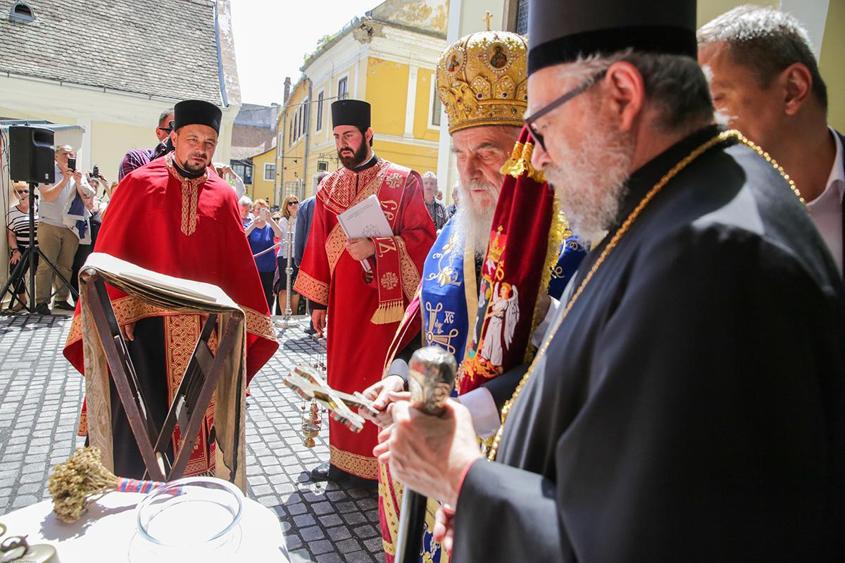 Света Архијерејска Литургија у Будимпешти